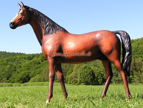 pferd badteln lebensgröße