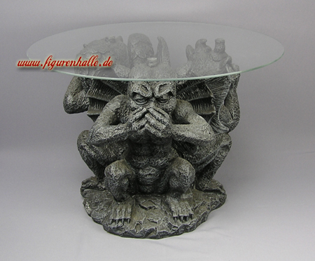 Wasserspeier Tisch Figur Material Kunstharz Ist 100 Wetterfest Geeignet Fr Innen Und Aussen Grsse Hhe Ca 55 Cm