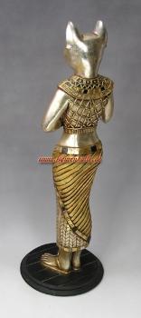 figurenhalle gyptische katzeng ttin des alten gypten figur. Black Bedroom Furniture Sets. Home Design Ideas
