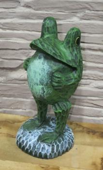 Figurenhalle frosch figur f r garten kaufen for Frosch figur garten